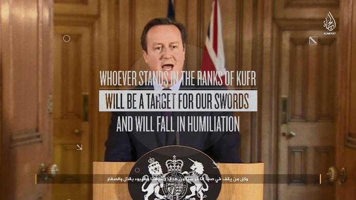 De video bedreigt Groot-Brittannië, en andere landen die deelnemen aan de coalitie tegen IS.