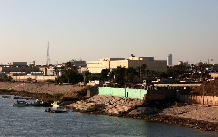 De Groene Zone in Bagdad. Beeld EPA