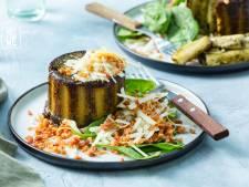 Wat Eten We Vandaag: Ovenpasta met spinaziebechamel, pancetta en pecorino