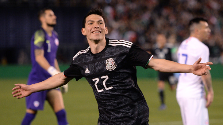 Hirving Lozano 'chipt' en scoort voor Mexico, PSV-reserve 'Guti' valt in