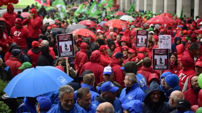 OVERZICHT. Vakbondsacties tegen pensioenplannen, hinder voor openbaar vervoer en vuilnisophaling