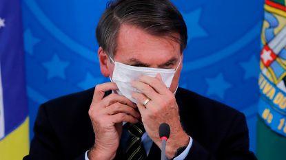 Braziliaanse rechter verplicht Bolsonaro om mondmasker te dragen