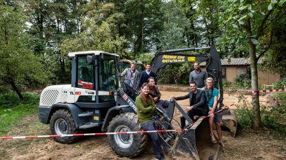 Scouts bouwen nieuwe lokalen, maar zoeken nog gulle schenkers