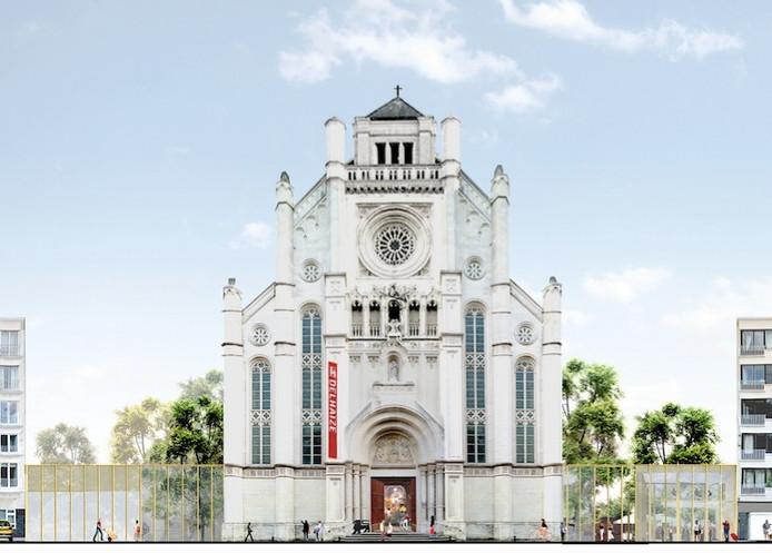 Het ziet er steeds meer naar uit dat de Sint-Annakerk echt een Delhaize wordt.