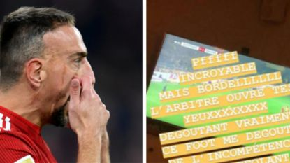 """""""Franck Ribéry deelt na verlies tegen Axel Witsel klappen uit aan journalist"""", ook vrouwlief doet op sociale media haar duit in het zakje"""