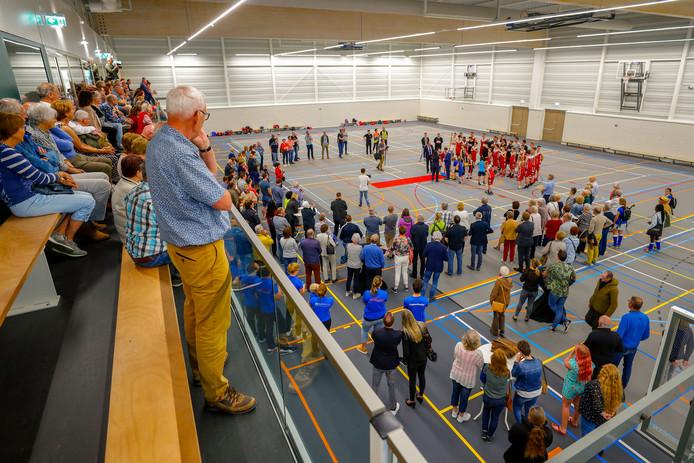 Het nieuwe sportcentrum De Wedert in Valkenswaard valt in de smaak.