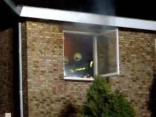 Veel rook bij woningbrand in Kaatsheuvel