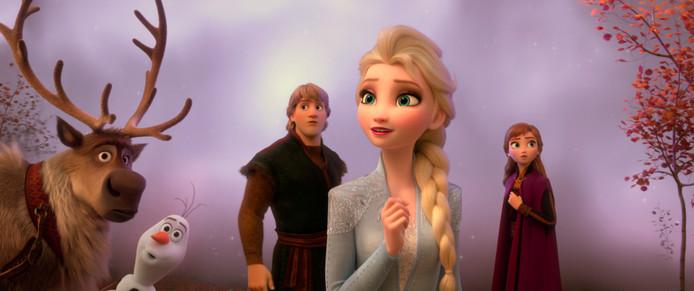 Een scène uit Frozen 2