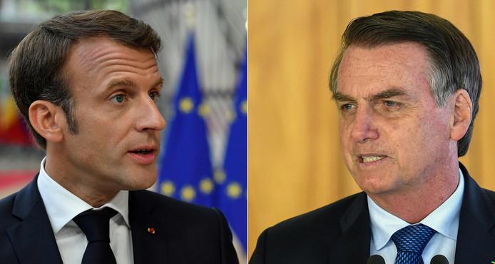 Bolsonaro eist dat Macron zijn beledigingen terugneemt voor hij over de acceptatie van de aangeboden G7-hulp gaat nadenken.