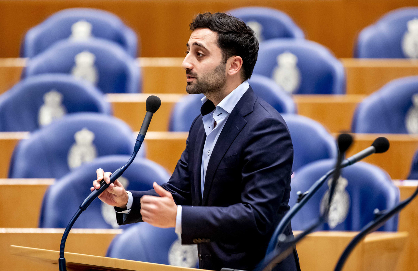 Mahir Alkaya (SP) in de Tweede Kamer