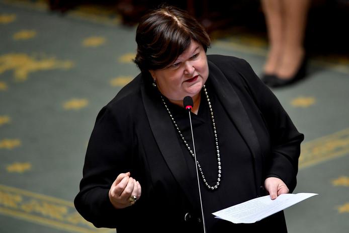 La ministre de la Santé publique Maggie De Block.