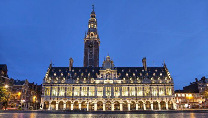 De KU Leuven-universiteitsbibliotheek aan het Ladeuzeplein in Leuven.
