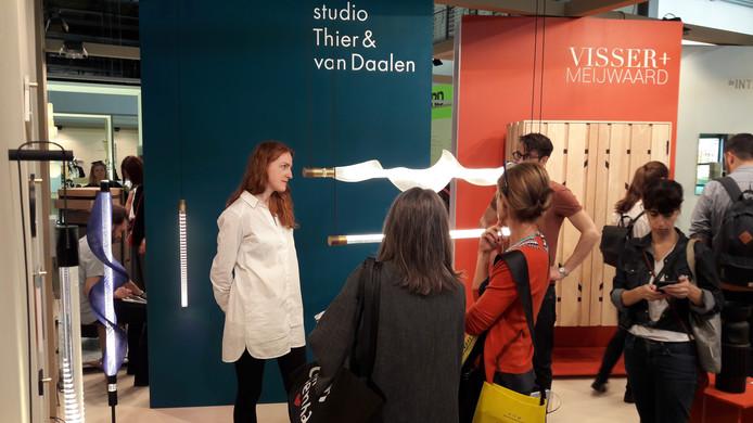 Het Eindhovense ontwerpduo Thier & Van Daalen op de Saloni in Milaan.