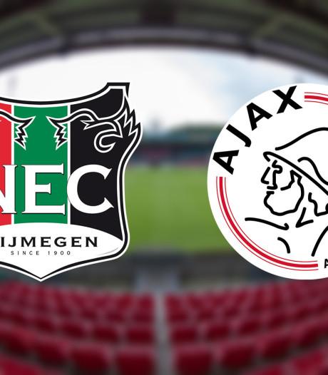 Jeugdspeler van Ajax gaat naar voetbalacademie NEC
