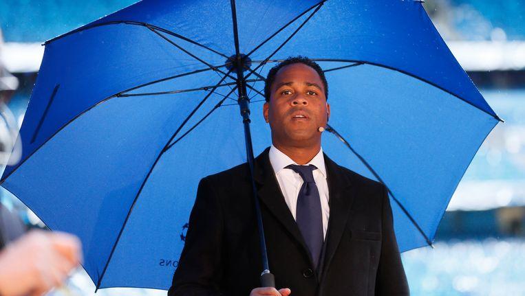 Patrick Kluivert als bondscoach van Curacao. Beeld photo_news