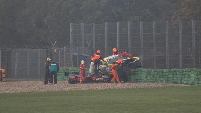 """Boonen ontsnapt aan drama in racewagen: """"De auto belandde letterlijk op 10 centimeter van mijn hoofd"""""""