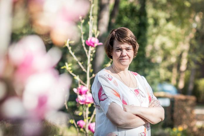 Irene Tullemans van praktijk 'Bij de Tulpenboom' helpt mensen met afvallen.