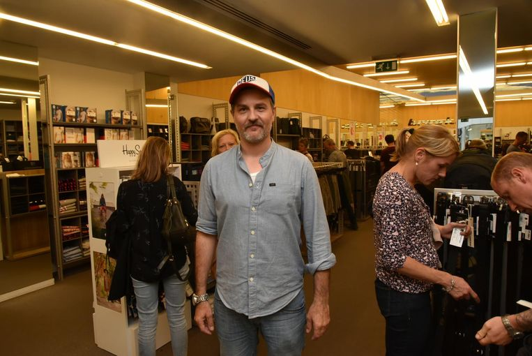 Wes Ferket, shopmanager bij Brooklyn in de Veldstraat.
