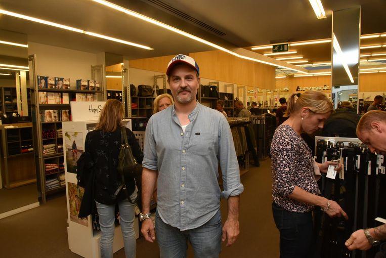 Wes Ferket, shopmanager bij Brooklyn in de Veldstraat.