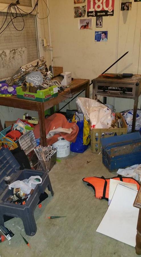 Garage overhoop gehaald