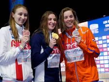Femke Heemskerk blij met goud, zilver én wereldrecord