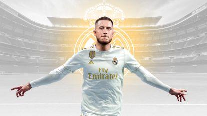 Warm welkom voor Hazard bij Real, pakkende woorden van Chelsea