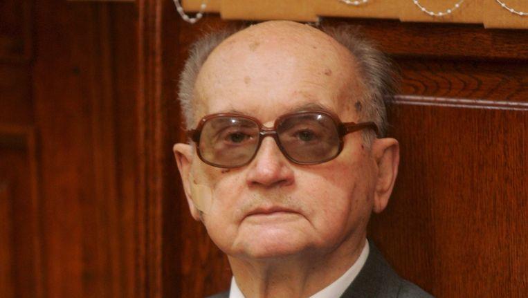 Wojciech Jaruzelski in 2008. Beeld epa