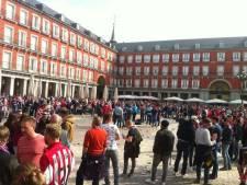 Jaar cel geëist tegen drie PSV-fans voor vernederen Roma-vrouwen in Madrid in 2016