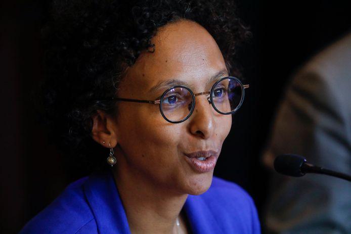 Staatssecretaris voor Economische Transitie Barbara Trachte (Ecolo)
