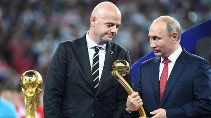 """Poetin: """"Rusland door 25 miljoen cyberaanvallen getroffen tijdens WK"""""""