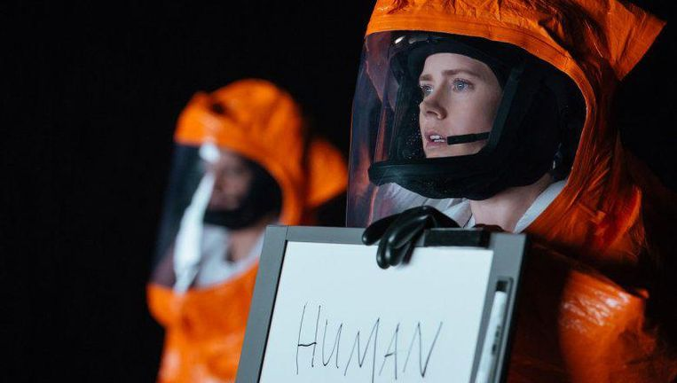 Amy Adams als Dr Louise Banks in Arrival. Beeld GoogleImages