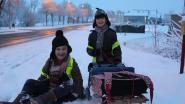 Brugge ontwaakt (opnieuw) onder dik sneeuwtapijt