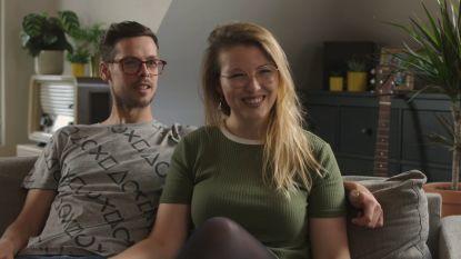 Mila en Mathias uit Aalter woensdagavond in Blind Gekocht op Vier