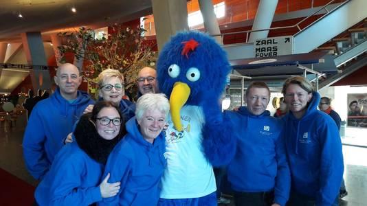 Team Flink uit Rotterdam is klaar voor de run van dit jaar.