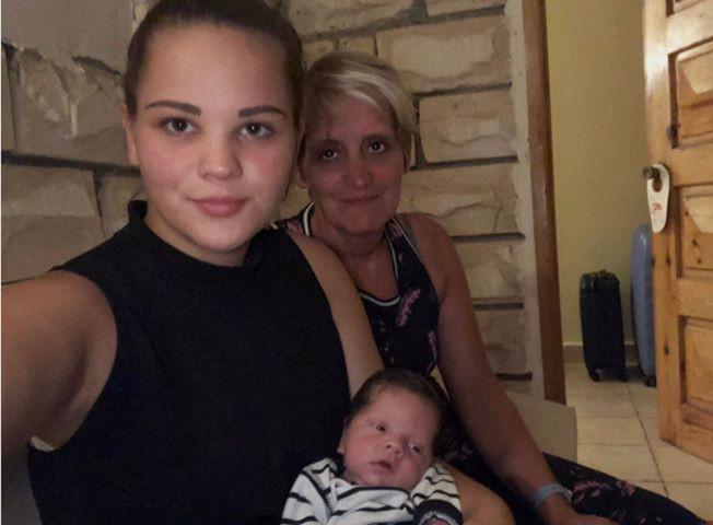 Sylvia, Britt en Yassin.