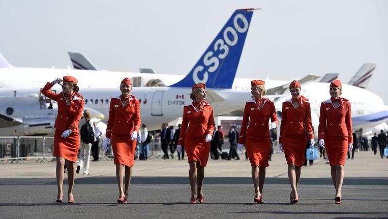 Een slecht afgesloten brandstofklep van een Airbus A320 van de Russische maatschappij Aeroflot heeft de bemanning zondag genoopt een tussenlanding te maken op de luchthaven van Kaliningrad.(archieffoto)