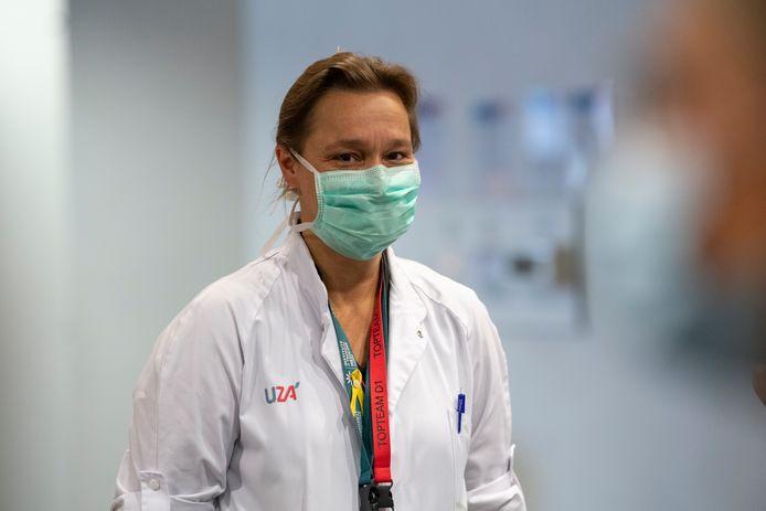 Infectiologe Erika Vlieghe.