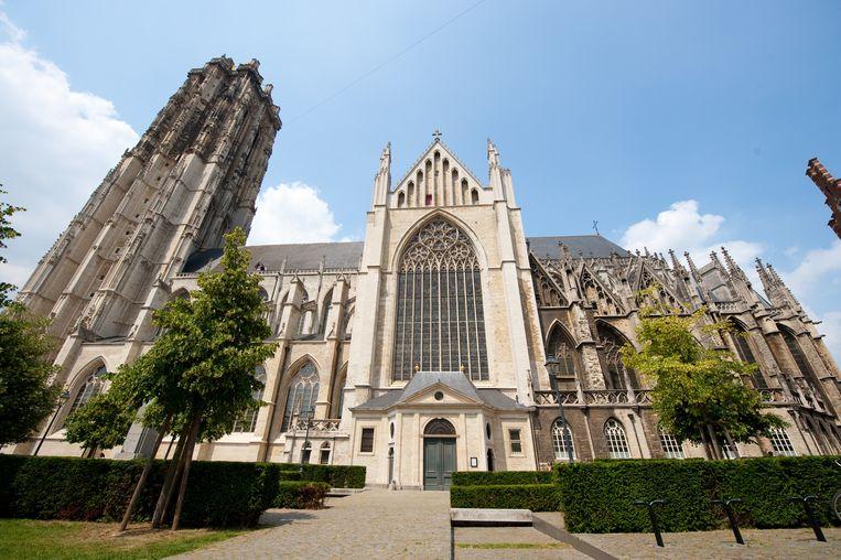 De Sint-Romboutskathedraal in Mechelen.