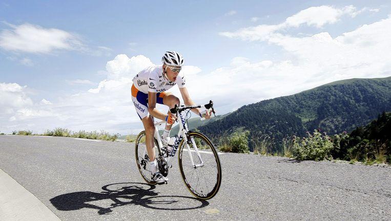 Ook Robert Gesink kon geen rit winnen. Foto's ANP Beeld ANP