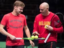 """Van Herck avant d'annoncer ses choix pour la Coupe Davis: """"La sélection la plus dure à faire en neuf ans"""""""