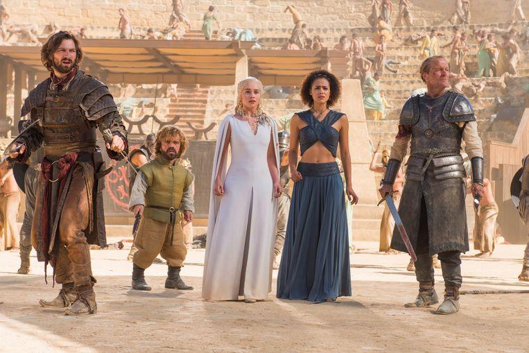 Scène uit het 5de seizoen van 'Game of Thrones'.
