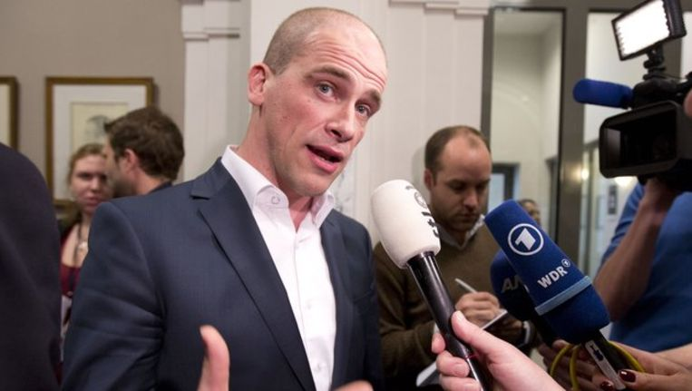 PvdA-leider Diederik Samsom. Beeld anp