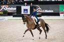 Anne Meulendijks in actie tijdens Indoor Brabant.