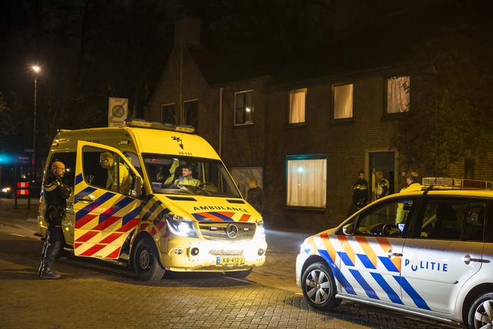 De politie was met meerdere eenheden ter plaatse. Voor zover bekend zijn er geen aanhoudingen verricht.