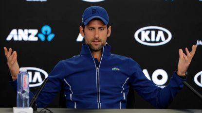 """Djokovic: """"Voel me nog geen honderd procent, maar ben klaar voor comeback"""""""