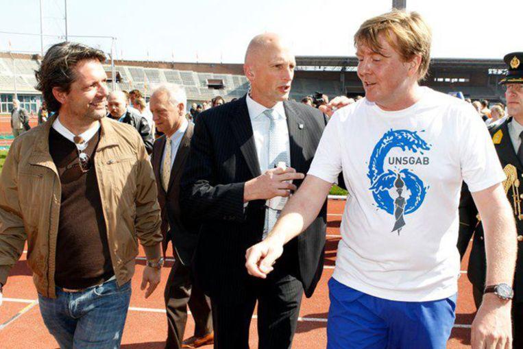 Met Willem-Alexander Beeld Peter Smulders