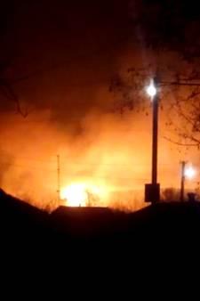 Explosies in grootste munitiedepot van Oekraïne door aanval