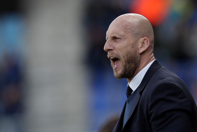 coach Jaap Stam of PEC Zwolle during PEC Zwolle - VVV-Venlo NETHERLANDS, BELGIUM, LUXEMBURG ONLY COPYRIGHT BSR/SOCCRATES