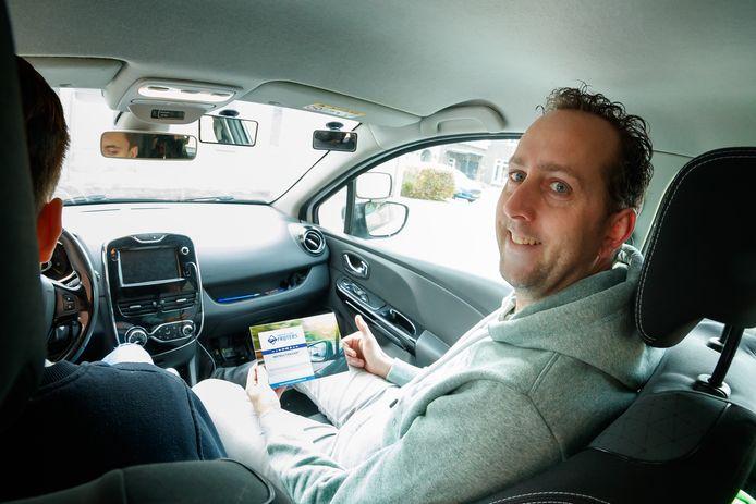 Rijschoolhouder Willem-Jan Frijters is ondernemer van het jaar geworden.