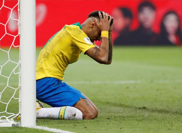 Ongeloof bij Neymar.